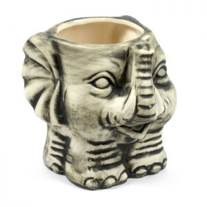 110997 447d0297ddcf49259ddb6332e0626c23 Tiki Elephant, grey matte finish 350ml