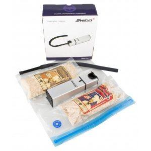 110997 4eb7408e27c44fc9a773f5517a62494f Steba Smoking Box - Starter Set