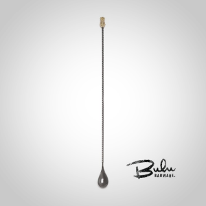 110997 90328e0ef6d34300a88cd0f4952ec460 Bulu Pineapple BarSpoon - Black/Gold