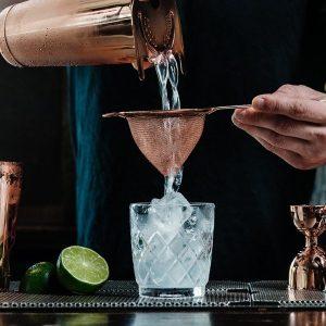 110997 f9b18934b18643ea9072ea4fc5d1a40e Fine Cocktail Strainer - Copper