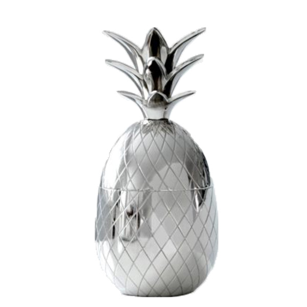 ananas1wc Silver Pineapple Bowl