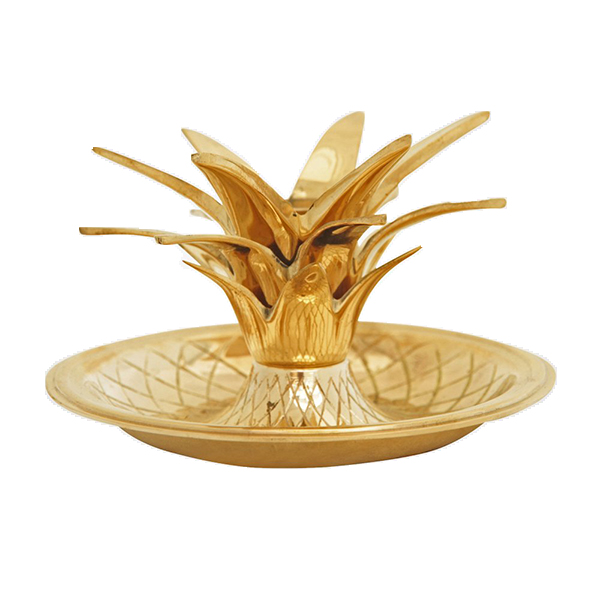 candleholder Gusums Golden Pineapple Candle Holder