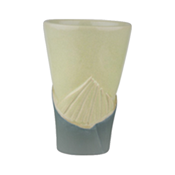 ceramic Tiki-Mug BAMBOO, green - 350ml