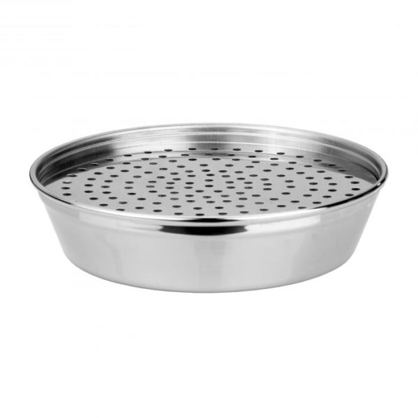 driptray DRIP TRAY - ROUND STAINLESS STEEL