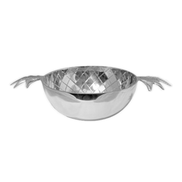 silver1wc Gusums Silver Pineapple Bowl Large