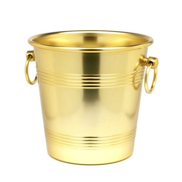 winecoolergold Champagne Cooler gold 4L  - Handle