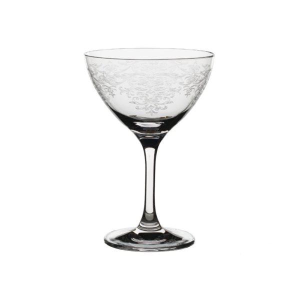 Rona lace panto champagne saucer 250ml RONA Martini Glas - Vintage Lace 25cl
