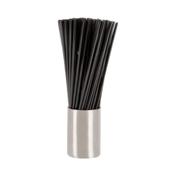collinsblack Collins Straw Black Plastic - 200mm / 6mm (500st)