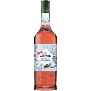 rhubarbwc Giffard Rhubarbe Syrup