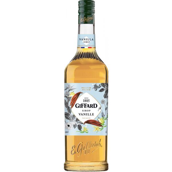 vanillawc Giffard Vanilla Syrup