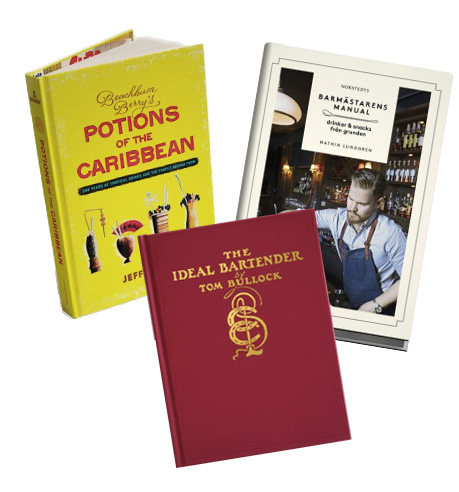 books Barverktyg, tonic och glas |