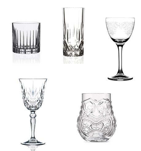 glasses Barverktyg, tonic och glas |