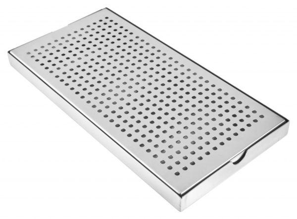 6451b 20180223 Spillbricka (30x15x2cm) - Rostfritt stål