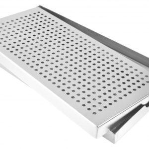 6451c 20180223 Spillbricka (30x15x2cm) - Rostfritt stål